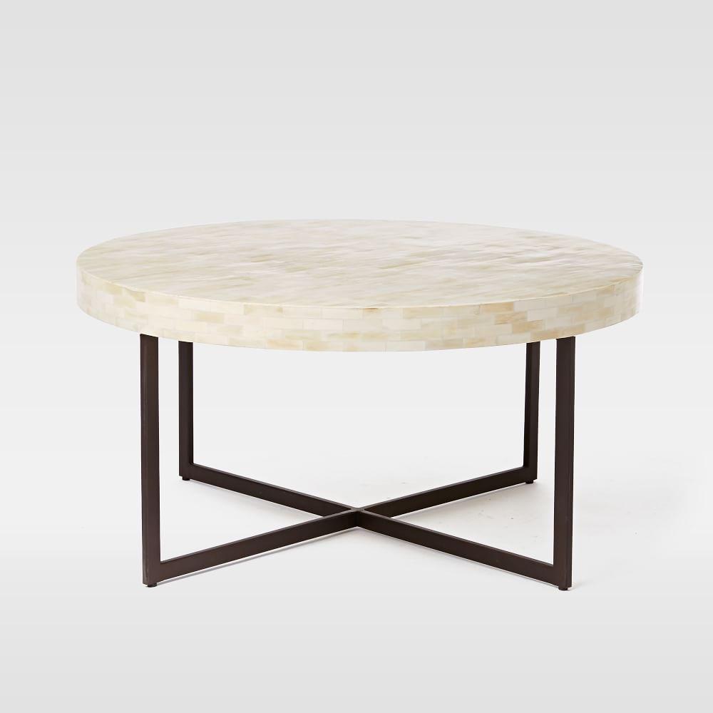 Low Bone Coffee Table