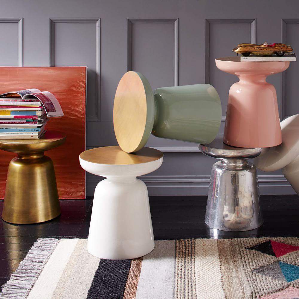 martini side table west elm au. Black Bedroom Furniture Sets. Home Design Ideas