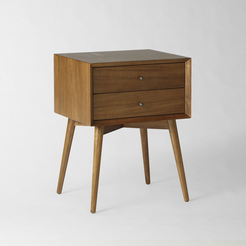 Mid century bedside table acorn west elm au for Bedroom table chairs