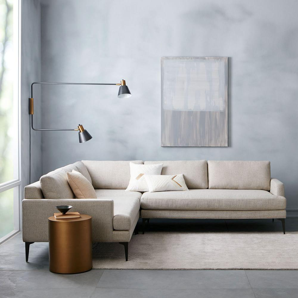 Build Your Own Andes Sectional Pieces West Elm Au