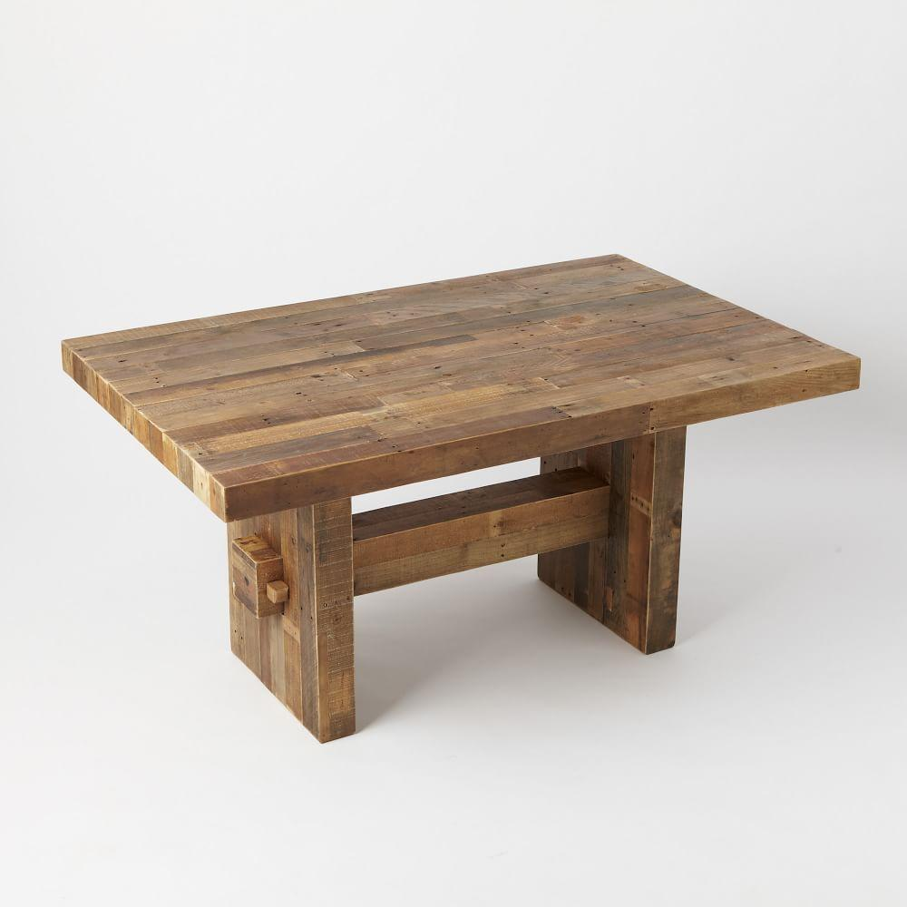 Emmerson Reclaimed Wood Dining Table West Elm Au
