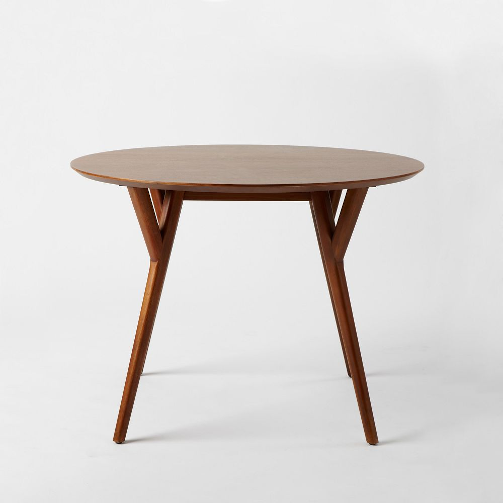 Round Dining Table 768 90 Sku Parker Mid Century Round Dining