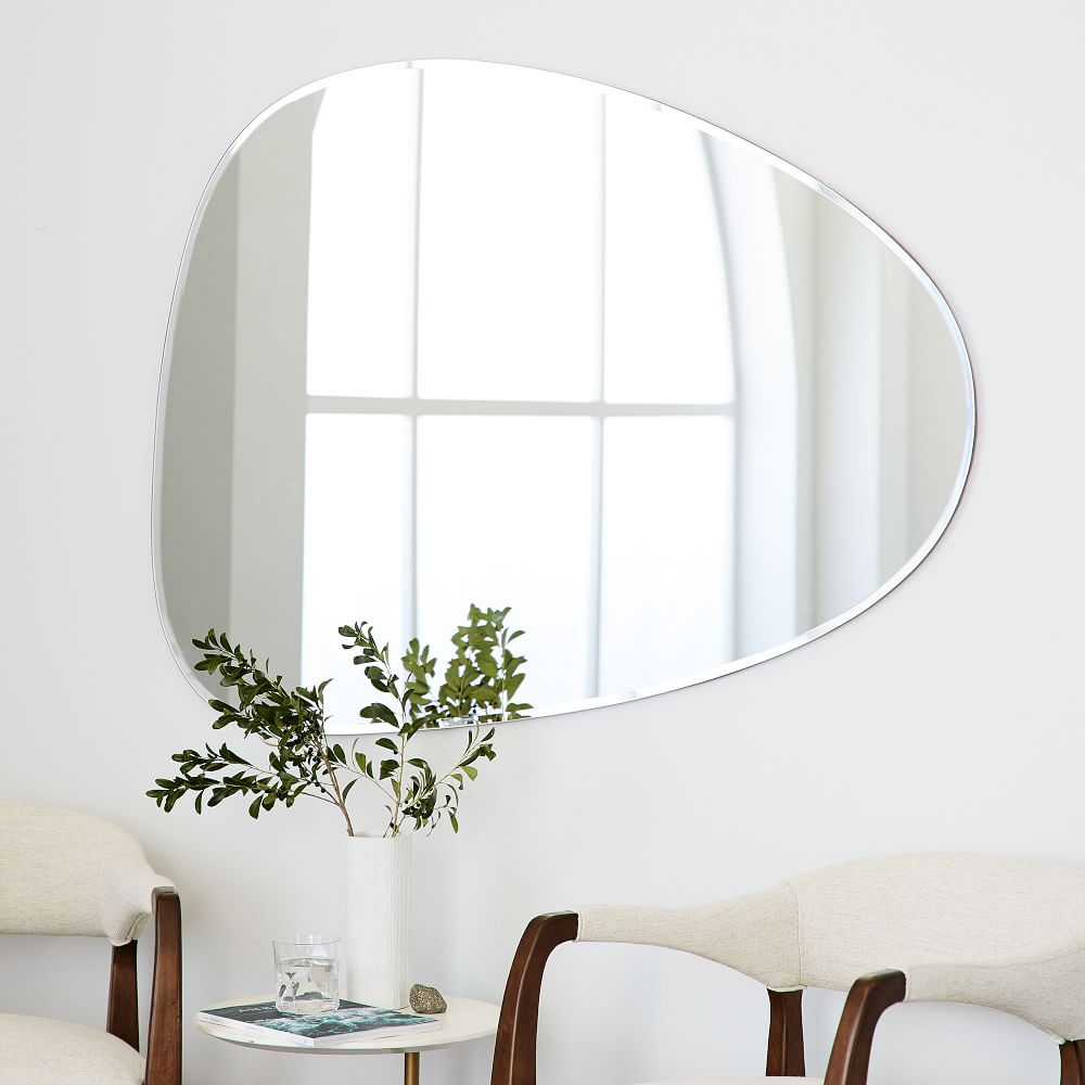 Frameless Asymmetrical Wall Mirror West Elm Australia