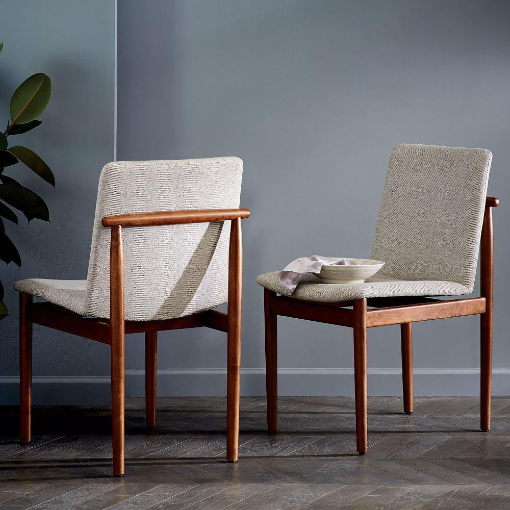 West Elm Chairs: Framework Upholstered Dining Chair