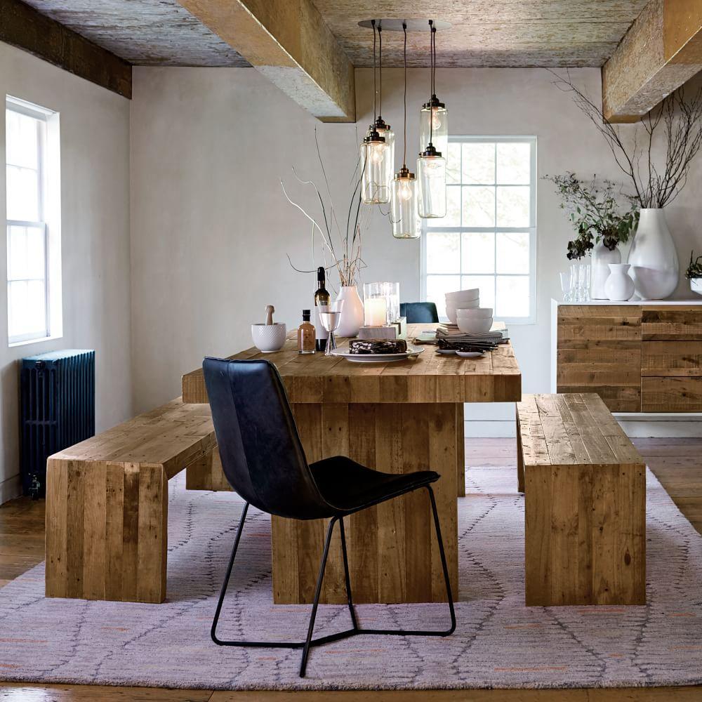 emmerson reclaimed wood dining table west elm au. Black Bedroom Furniture Sets. Home Design Ideas