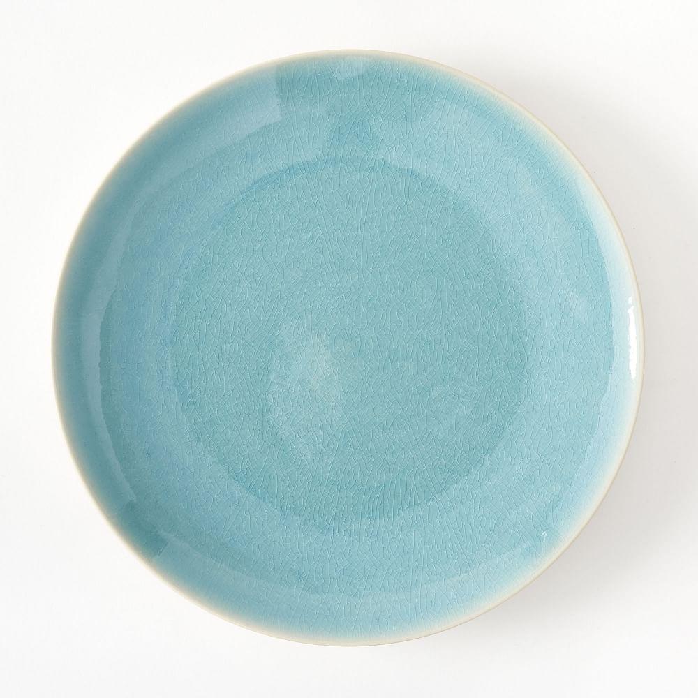 Alta Crackle Glaze Dinnerware - Turquoise