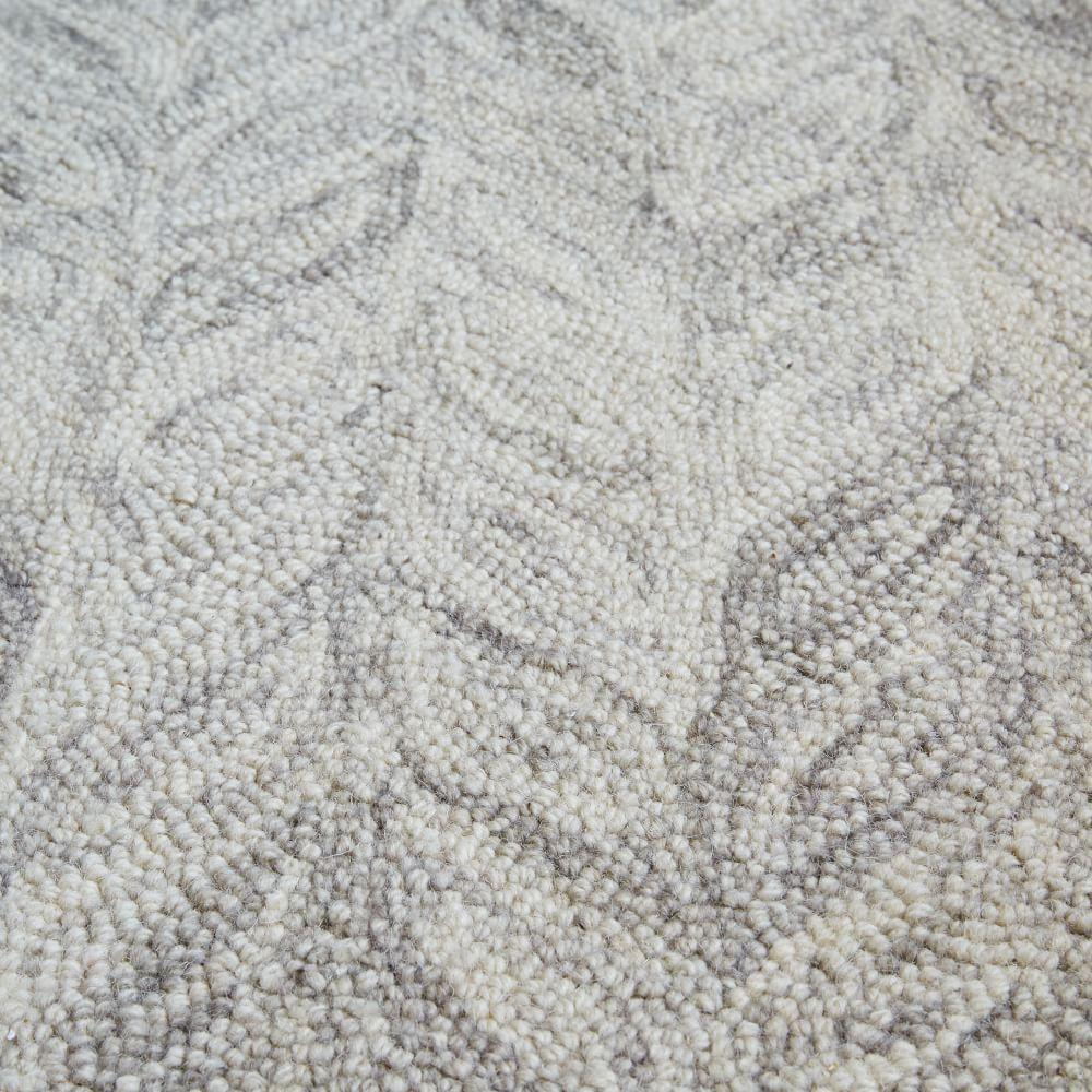 Vines Wool Rug Round West Elm Australia