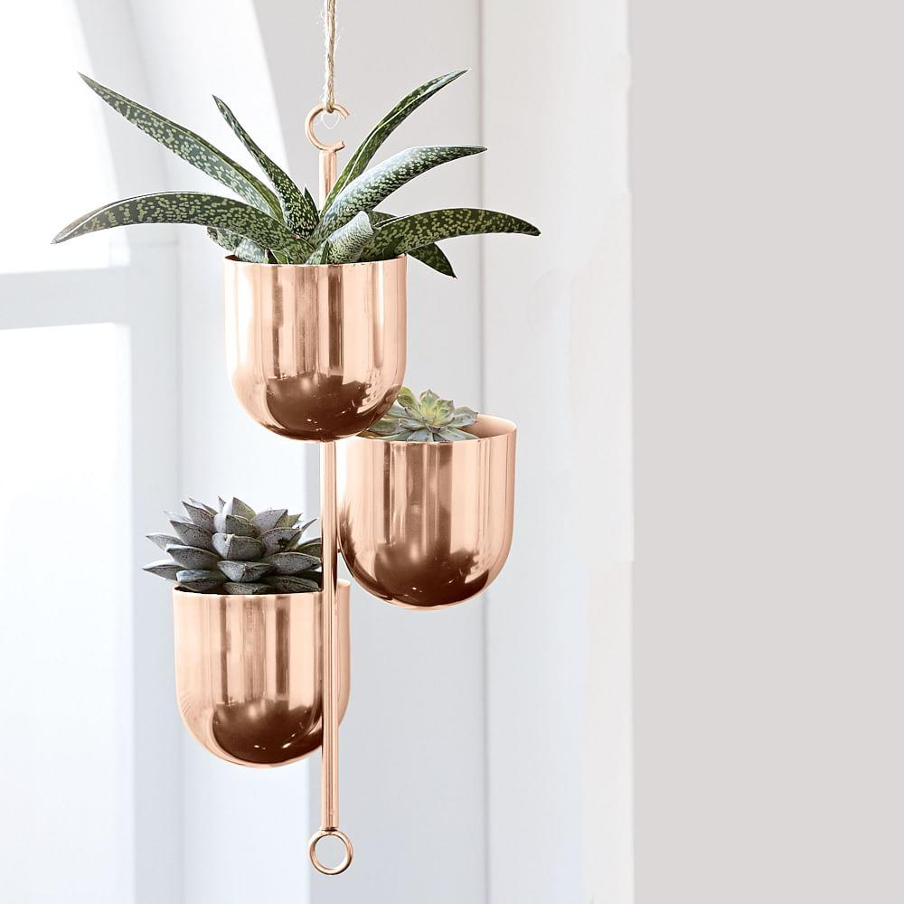 Hanging Metal Planters West Elm Au