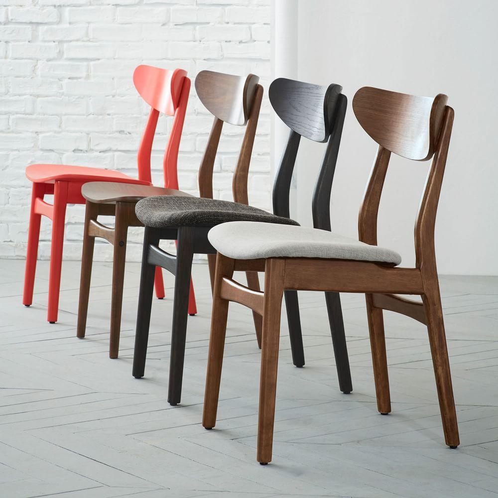 Classic cafe dining chair walnut west elm australia for Classic dining tables and chairs