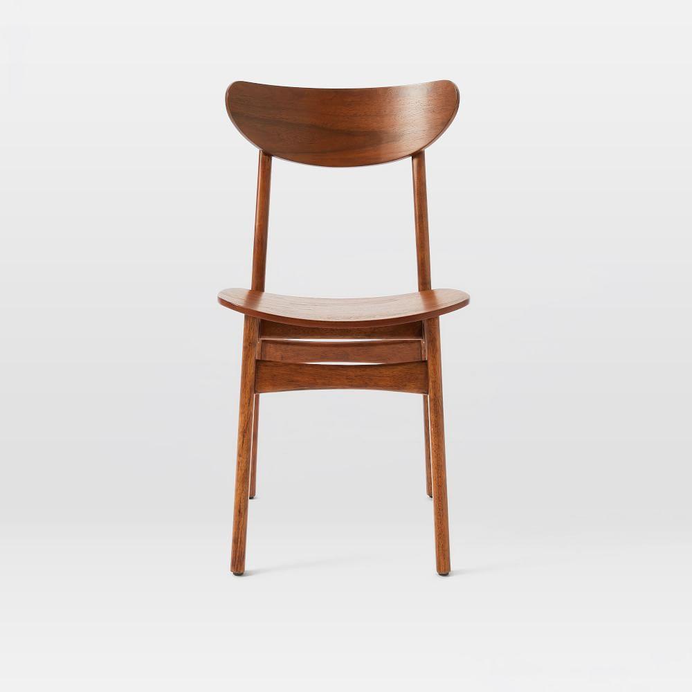 Classic Caf 233 Walnut Dining Chair West Elm Australia