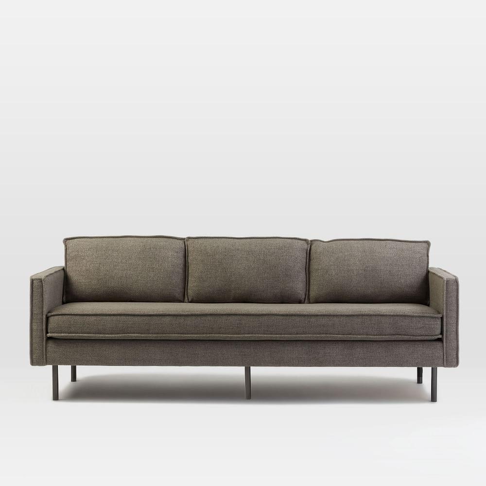 West elm sectional100 west elm paidge sofa sectional 108 for Sectional sofa bed west elm