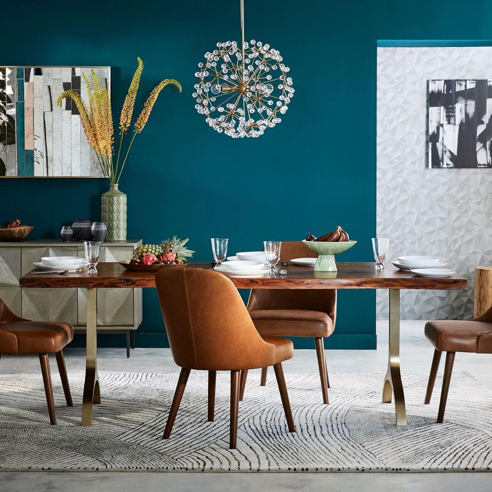 Trestle Dining Room Table: Cast Trestle Dining Table