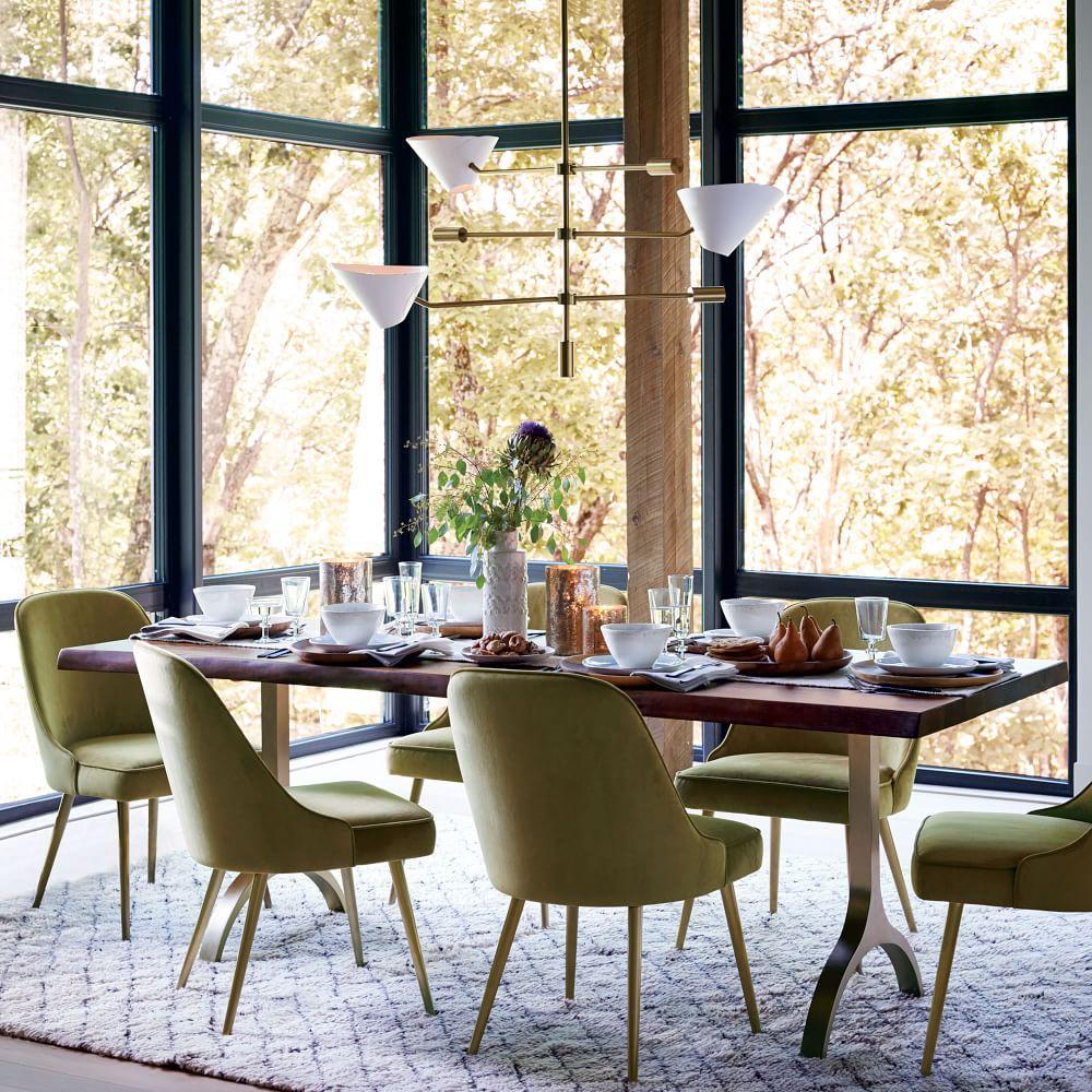 cast trestle dining table west elm au. Black Bedroom Furniture Sets. Home Design Ideas