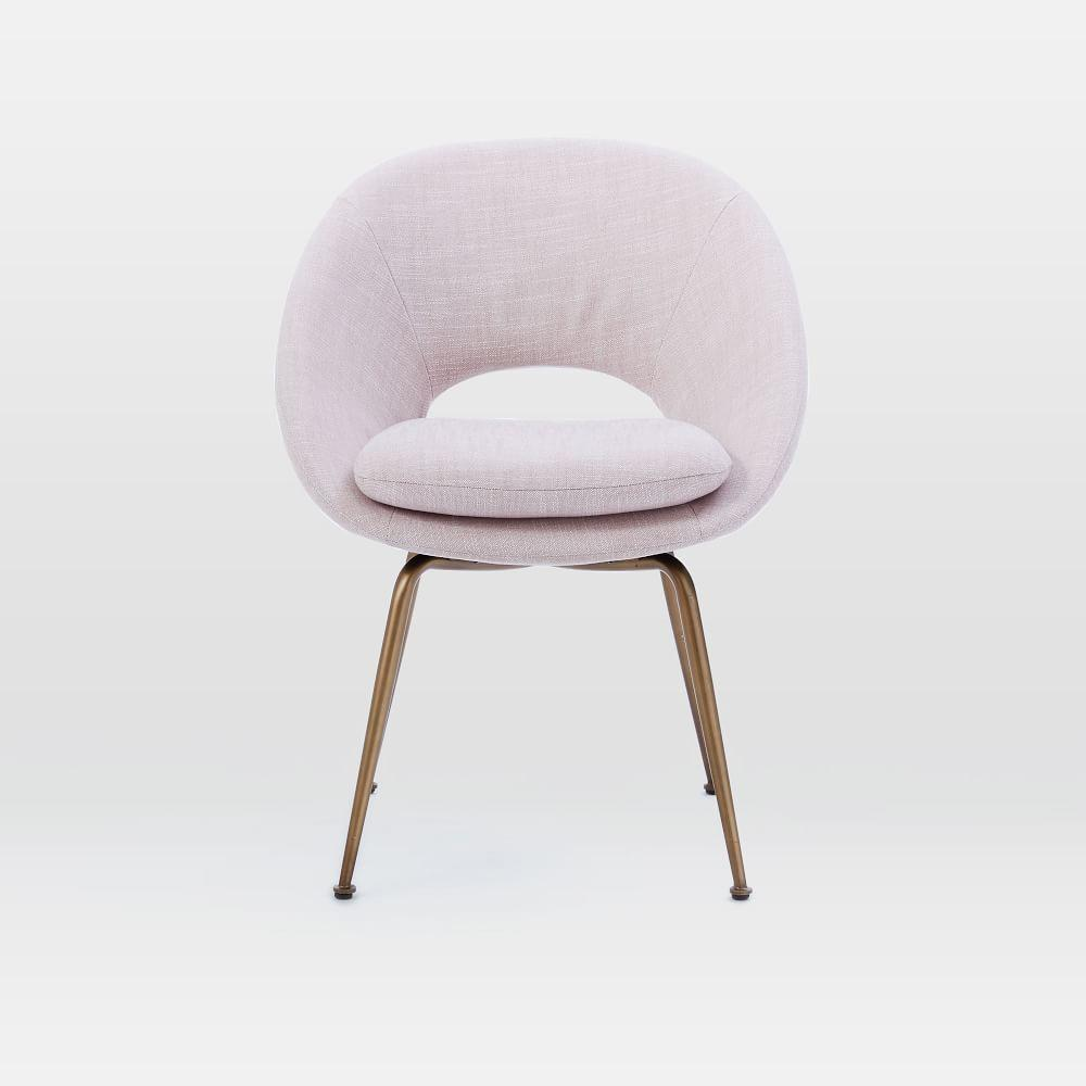 orb upholstered dining chair  west elm au - orb upholstered dining chair