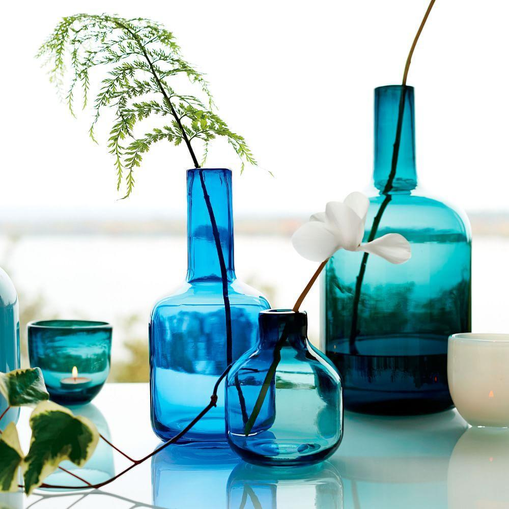 Pure Glass Vases West Elm Australia