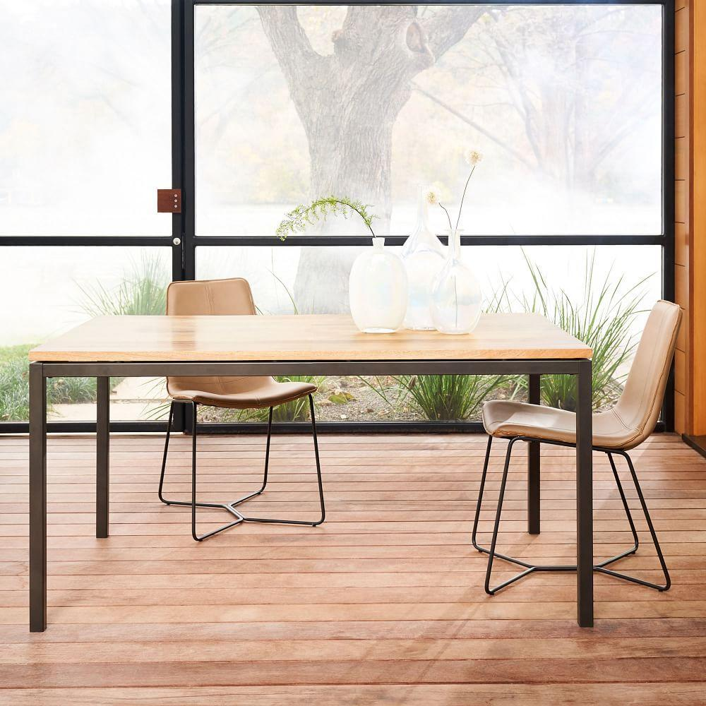 Box Frame Expandable Dining Table West Elm Australia