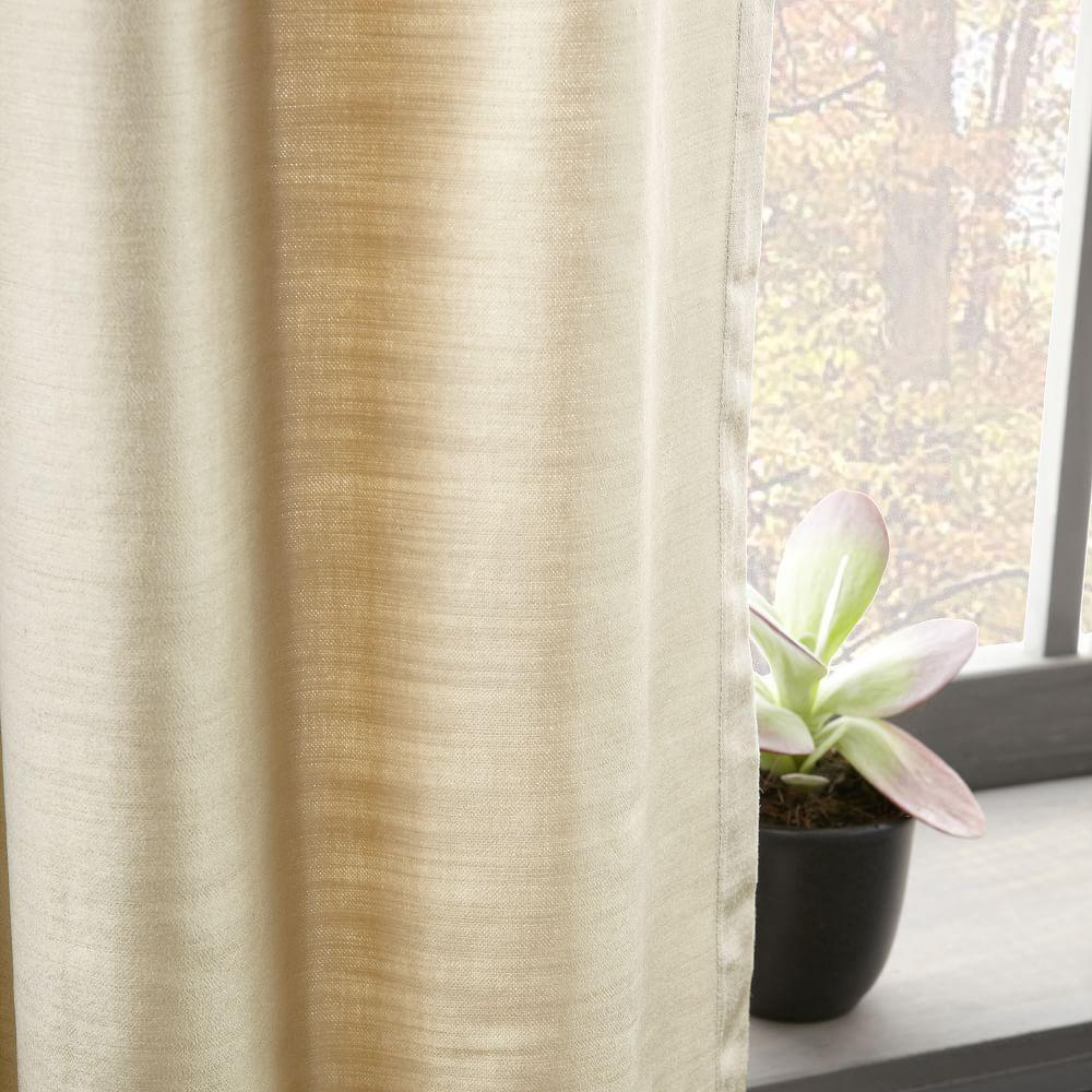 Cotton Lustre Velvet Curtain Blackout Lining