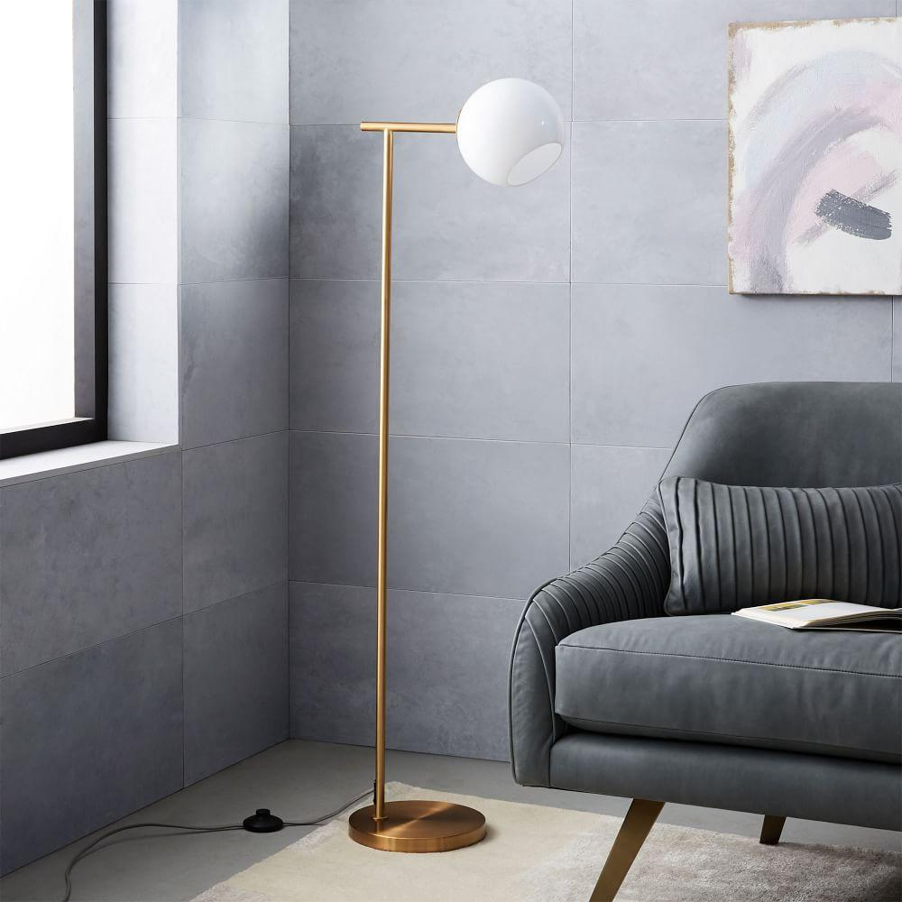 Staggered glass floor lamp west elm au staggered glass floor lamp aloadofball Gallery