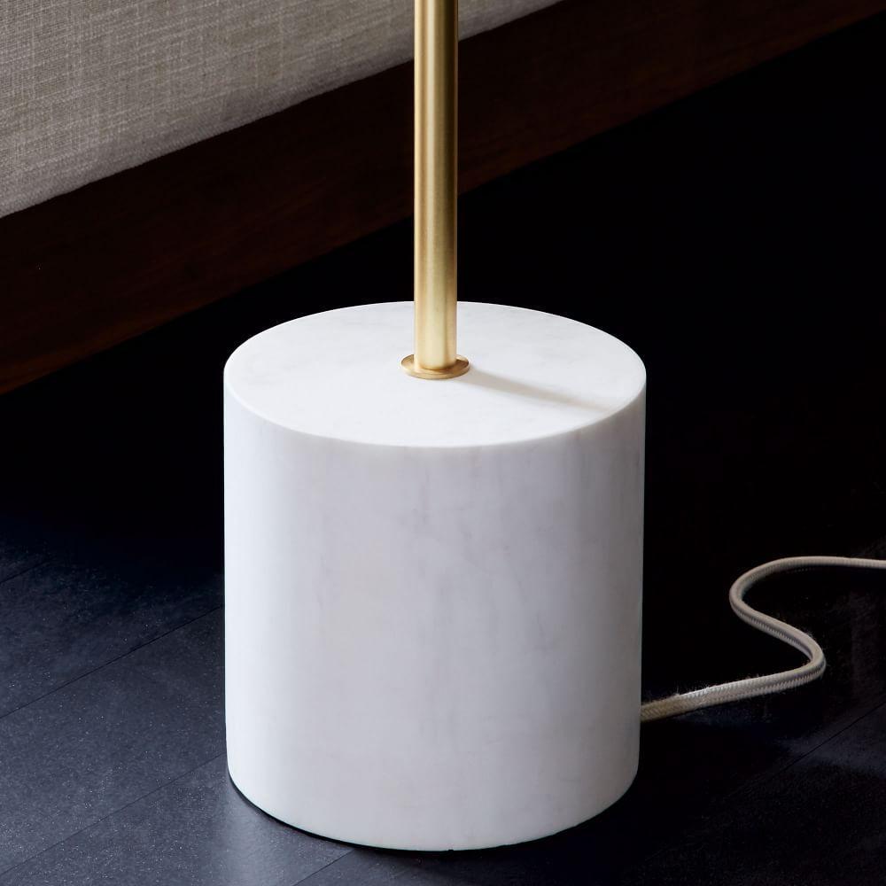 Sphere + Stem Floor Lamp