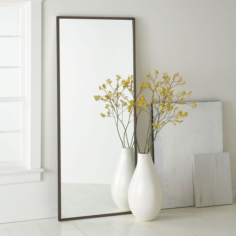 Metal Framed Floor Mirror | west elm Australia