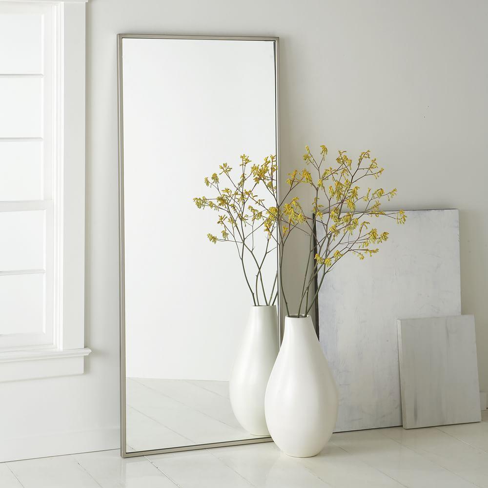 Metal Framed Floor Mirror   west elm Australia