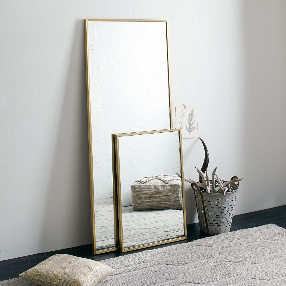 Metal Framed Floor Mirror | west elm Australia