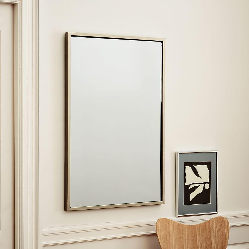 metal wall mirror - Metal Mirror Frame