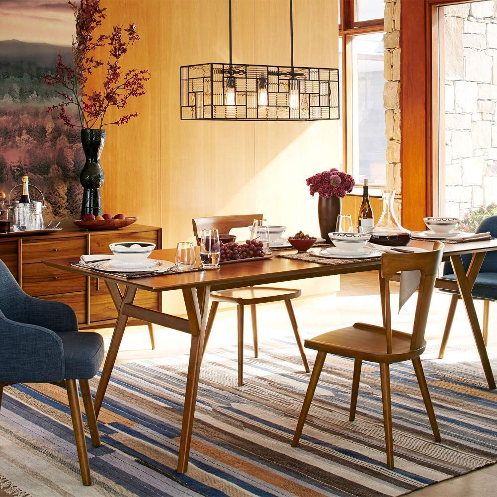 Design West Elm Dining Table mid century expandable dining table walnut west elm au walnut