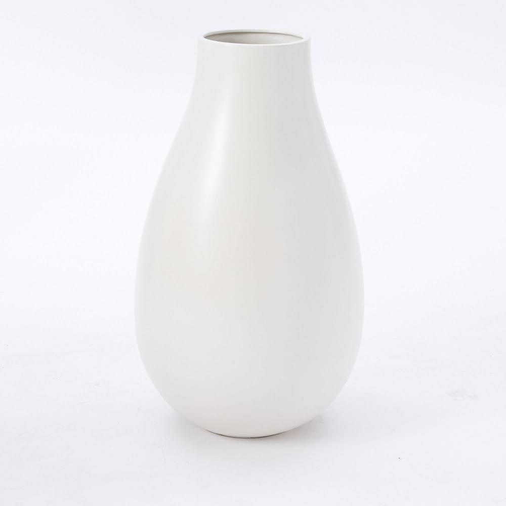 interesting white ceramic vases. Oversized Pure White Ceramic Vases  west elm Australia
