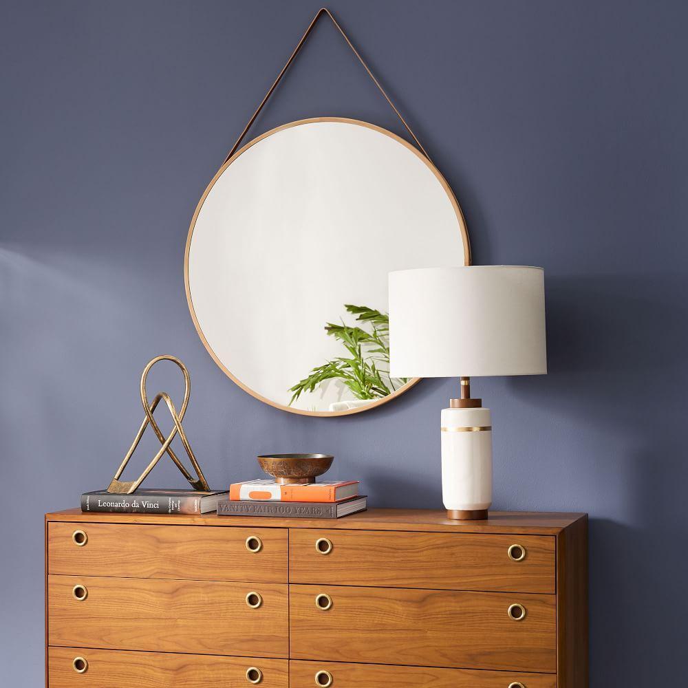 Modern Hanging 91 cm Mirror