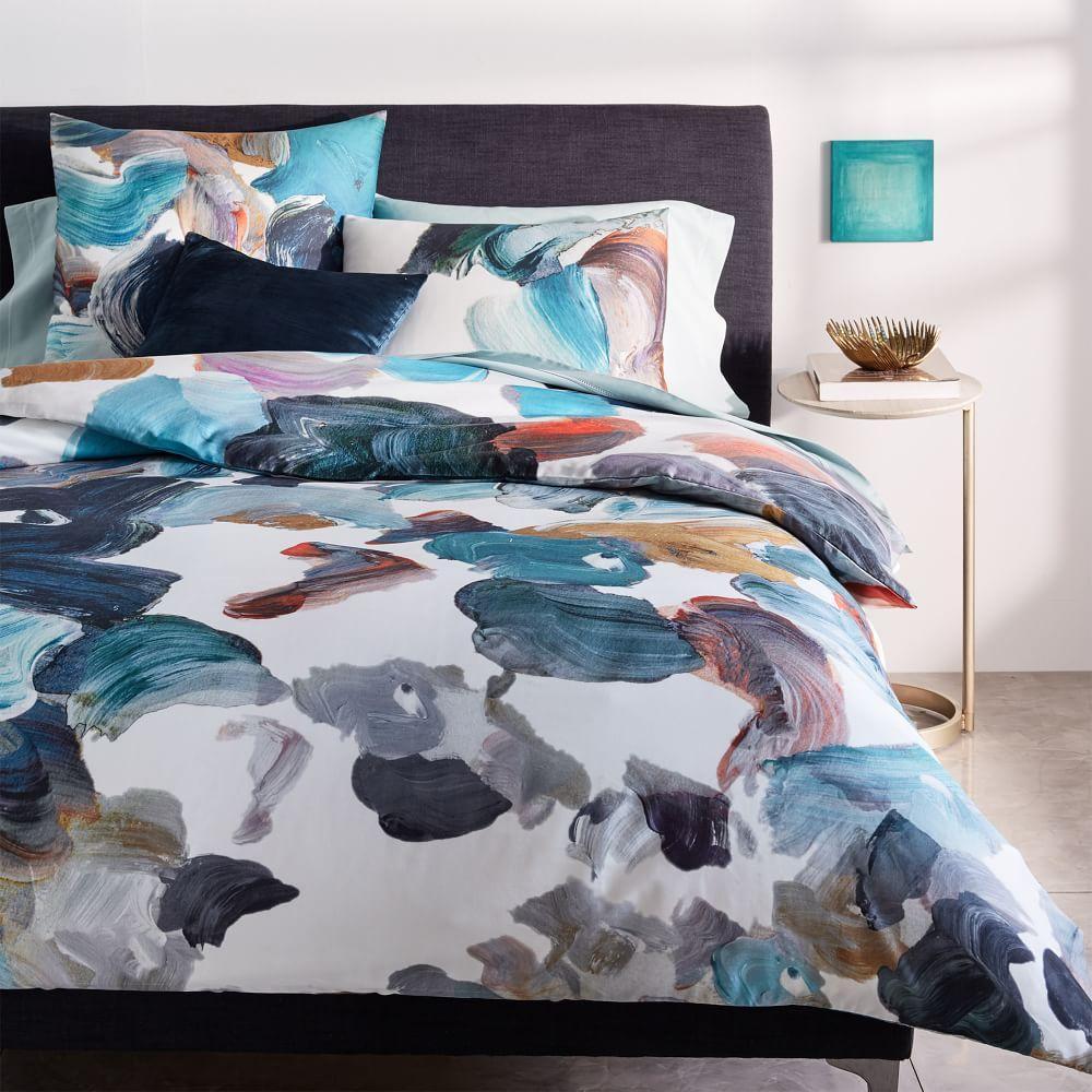 tencel artist 39 s palette quilt cover pillowcases west. Black Bedroom Furniture Sets. Home Design Ideas