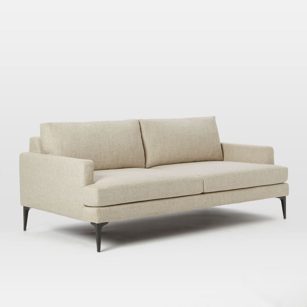 Andes sofa stone 194 cm west elm au for Small modern sectional sofas