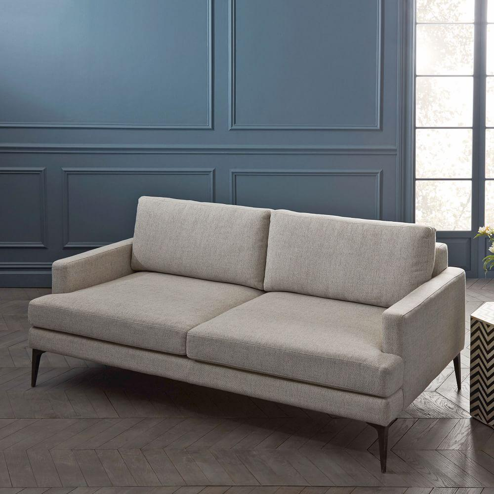 andes sofa 194 cm stone twill west elm australia. Black Bedroom Furniture Sets. Home Design Ideas