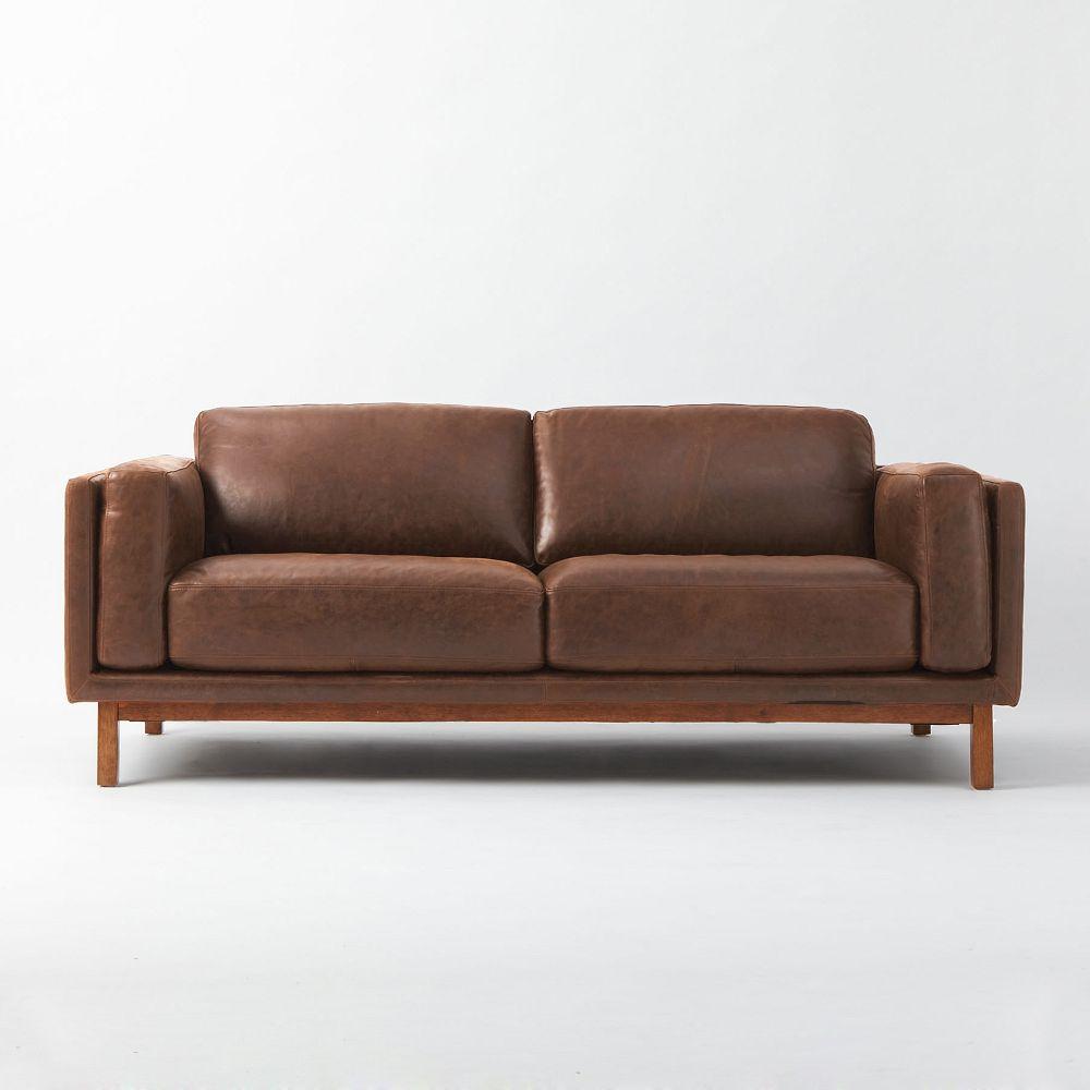 Dekalb Leather Sofa