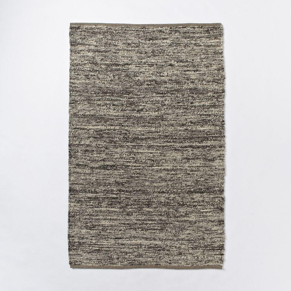 Sweater Wool Rug Charcoal