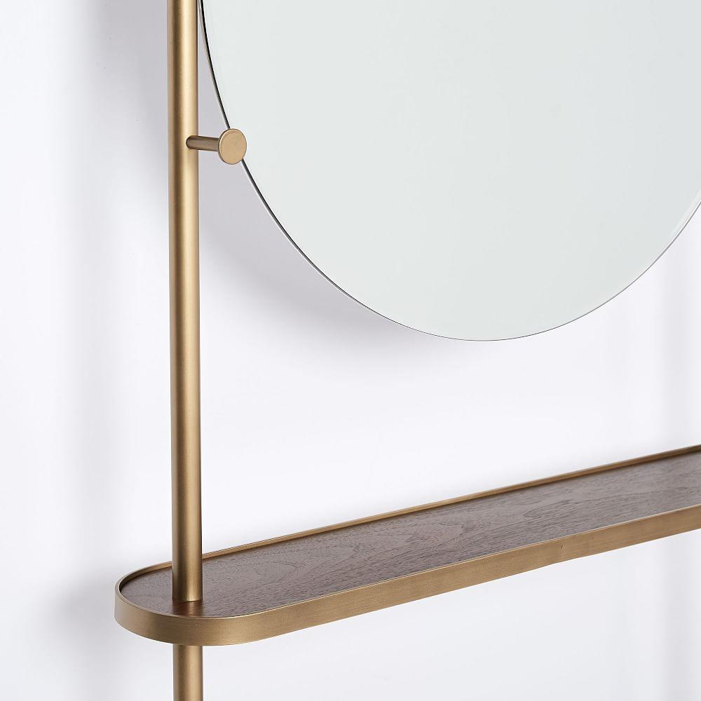 Modern Entryway Mirror Coat Rack West Elm Au