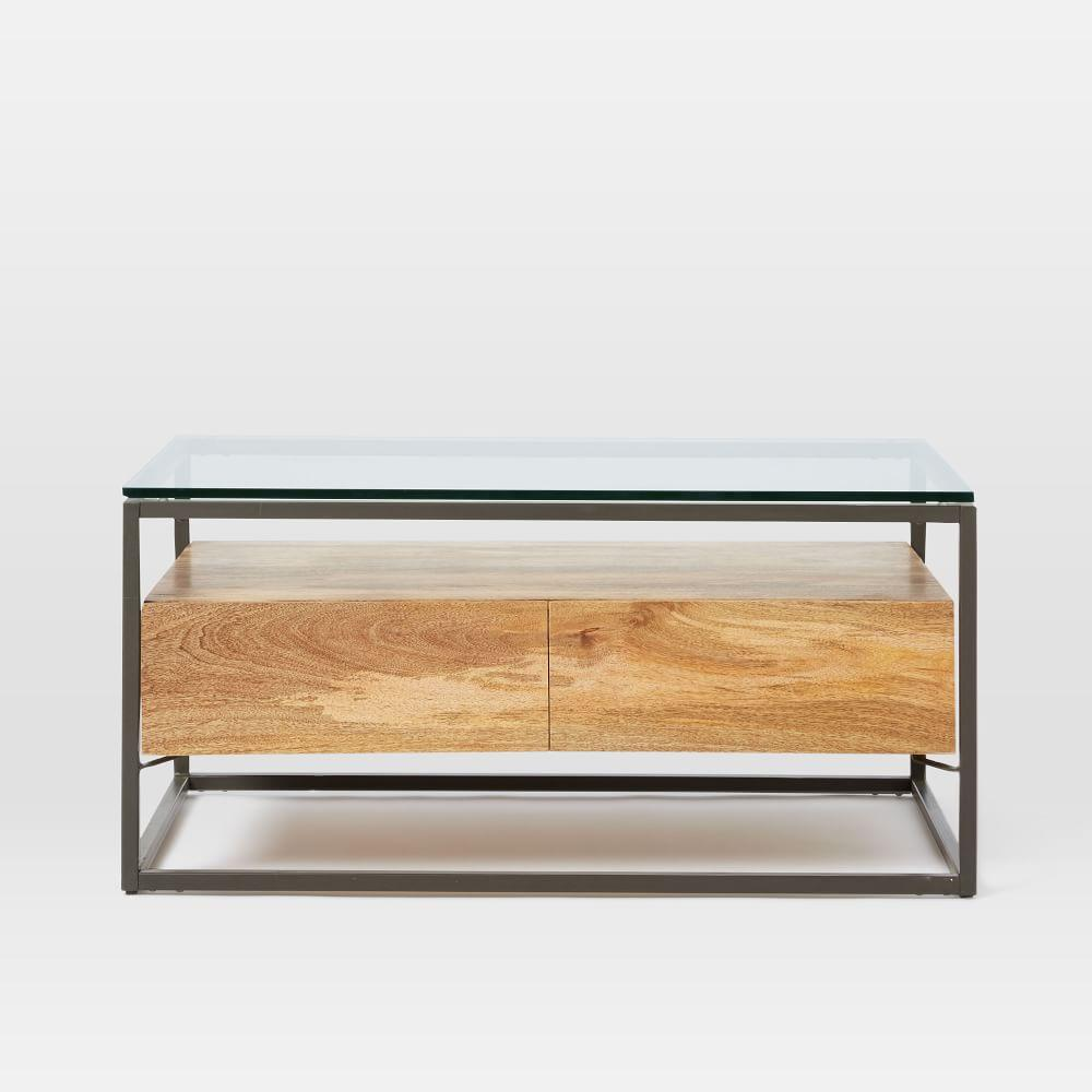 Box Frame Storage Coffee Table | west elm Australia