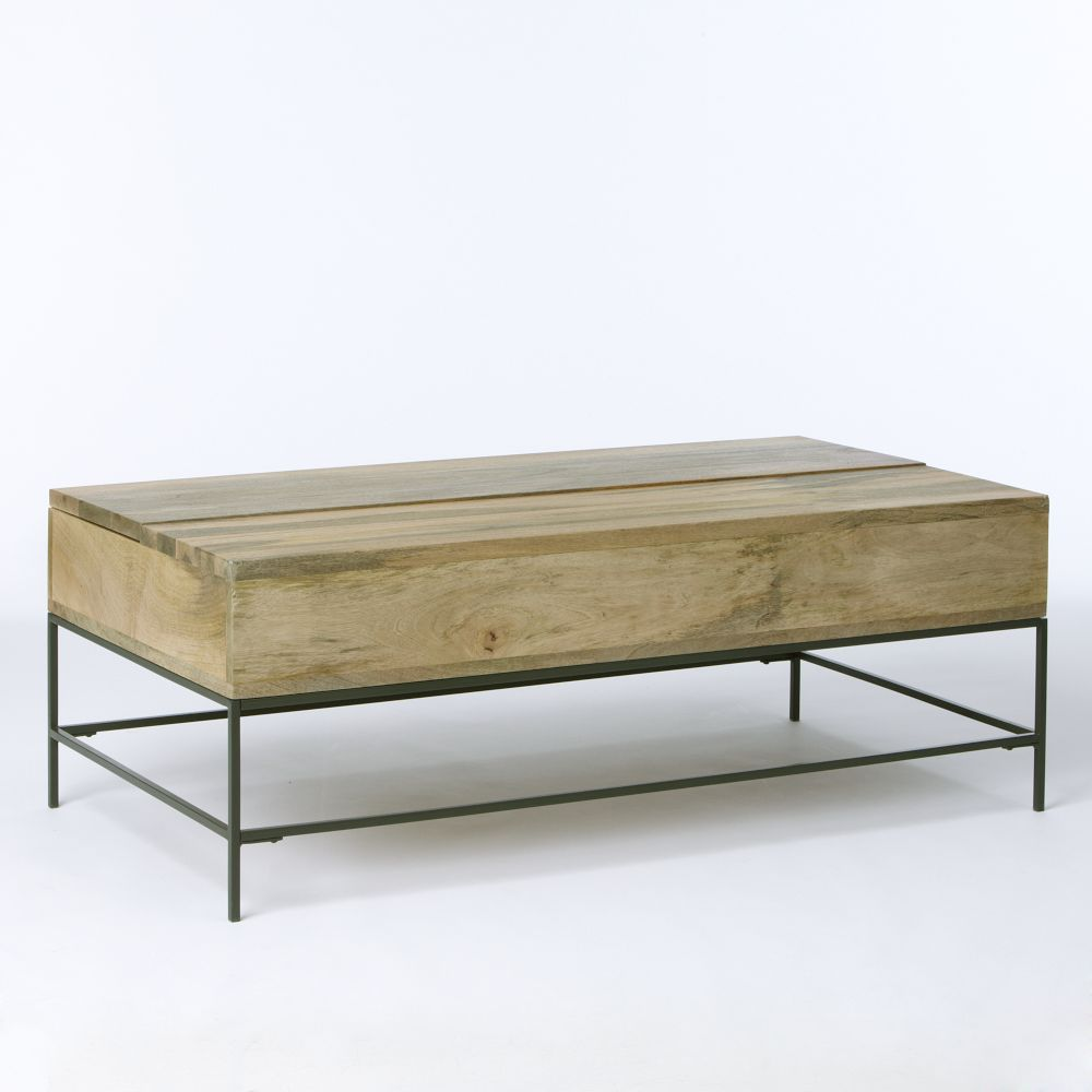 Industrial Storage Coffee Table West Elm Au