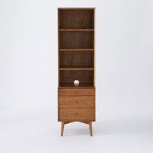 Mid-Century Media Tower (52 cm) - Acorn