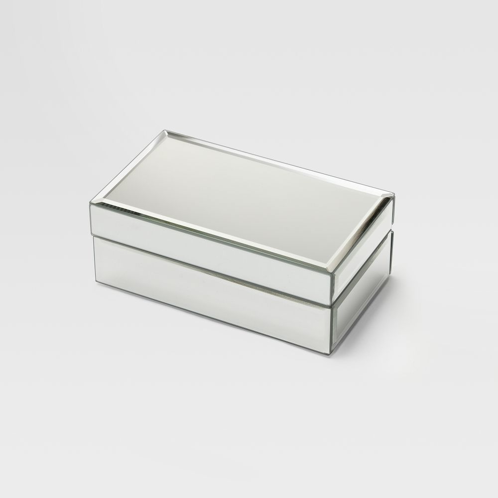 Mirrored jewellery box west elm au for Mirror jewellery box
