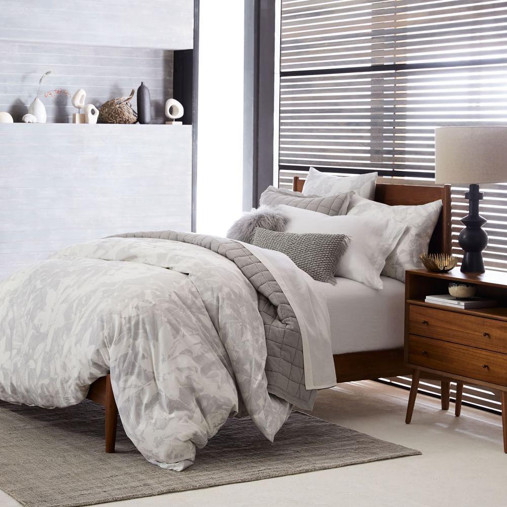 media bedframe west elm bed acorn century australia mid