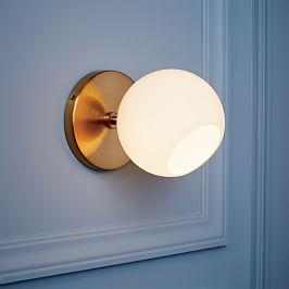Staggered Glass Sconce - Single