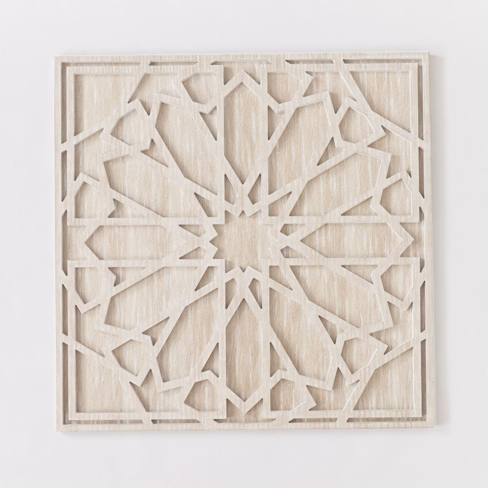 Whitewashed Wood Wall Art