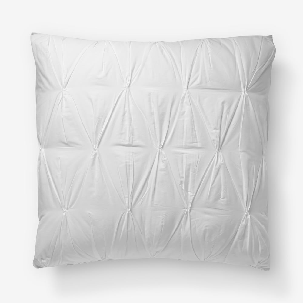 ... Organic Cotton Pintuck Quilt Cover + Pillowcases ...