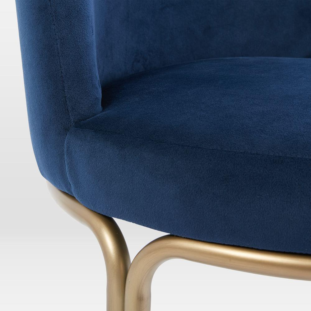 Cora Dining Chair - Velvet