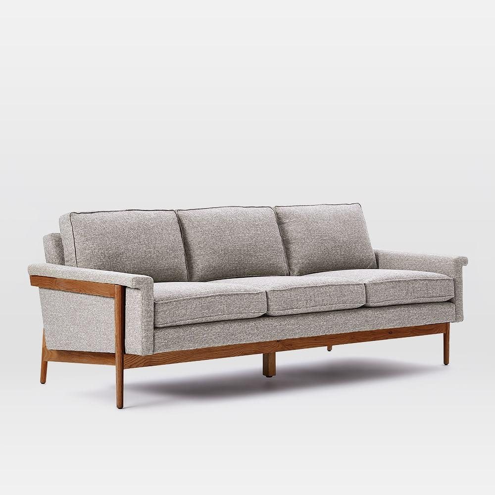 Leon S Furniture Sectional Sofas: Leon Wood Frame Sofa (209 Cm)
