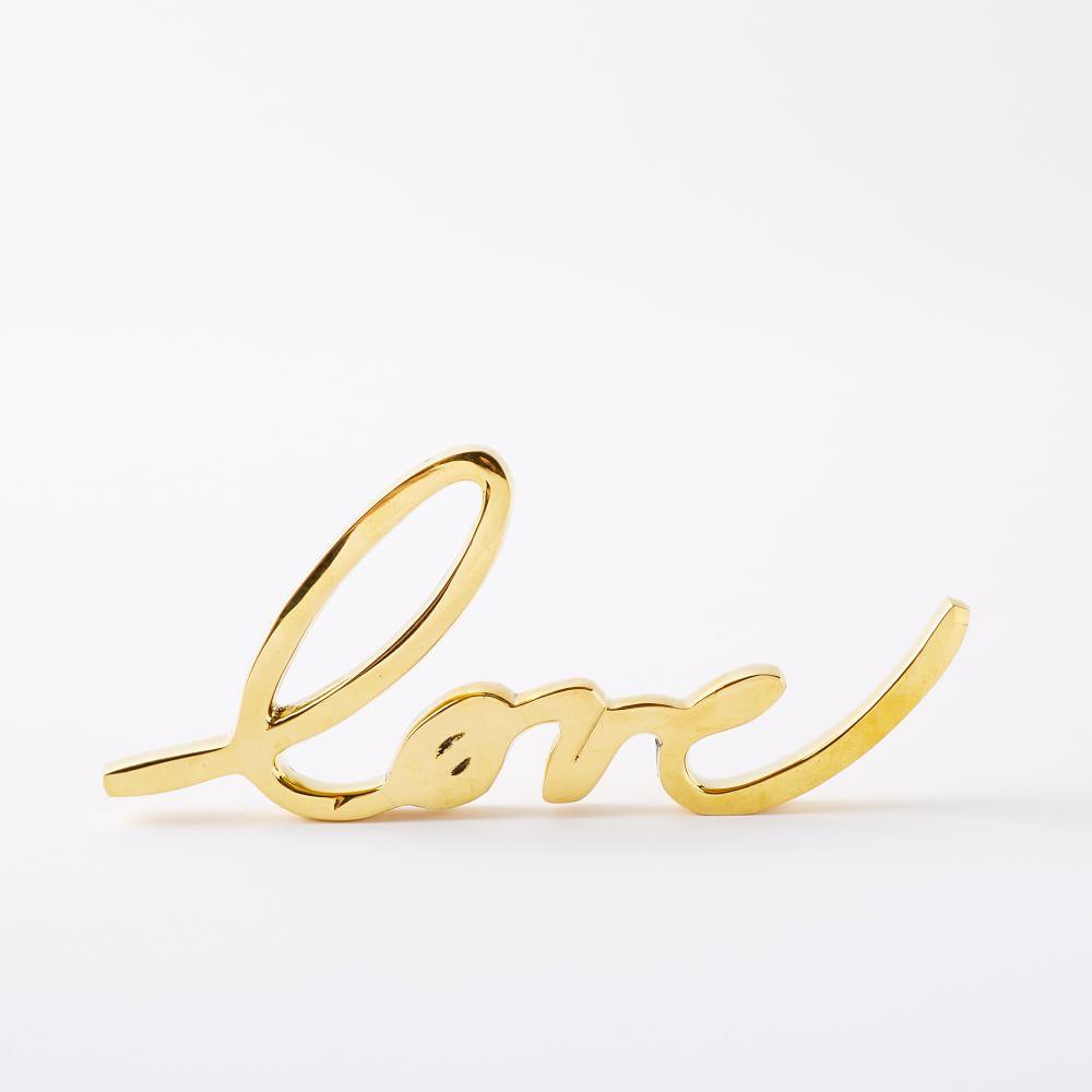 Brass Love Object