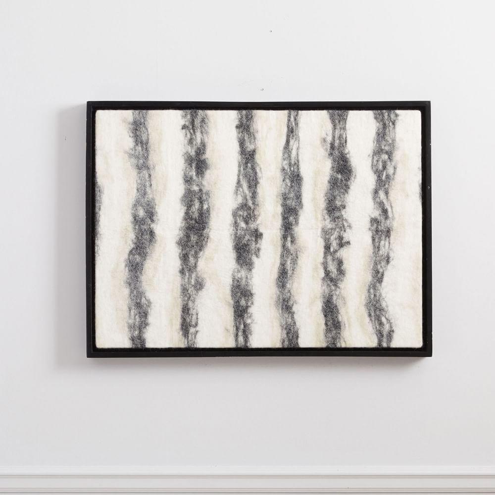 Felt Wall Art, Black + White | west elm Australia