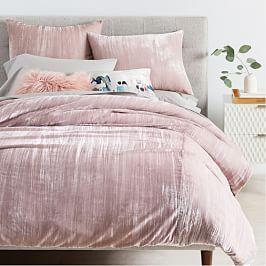 Velvet Bed Linen West Elm Australia