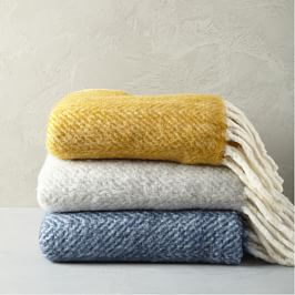 Herringbone Soft Touch Throw